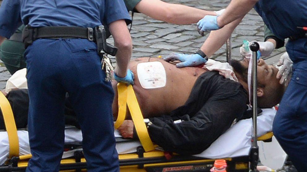 Фото нападавшего в Лондоне / news.sky.com
