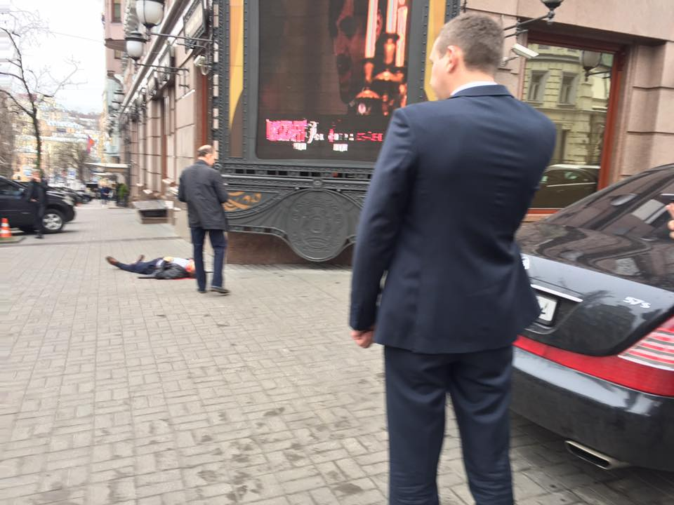 Убийство Вороненкова в Киеве / twitter.com/radiosvoboda