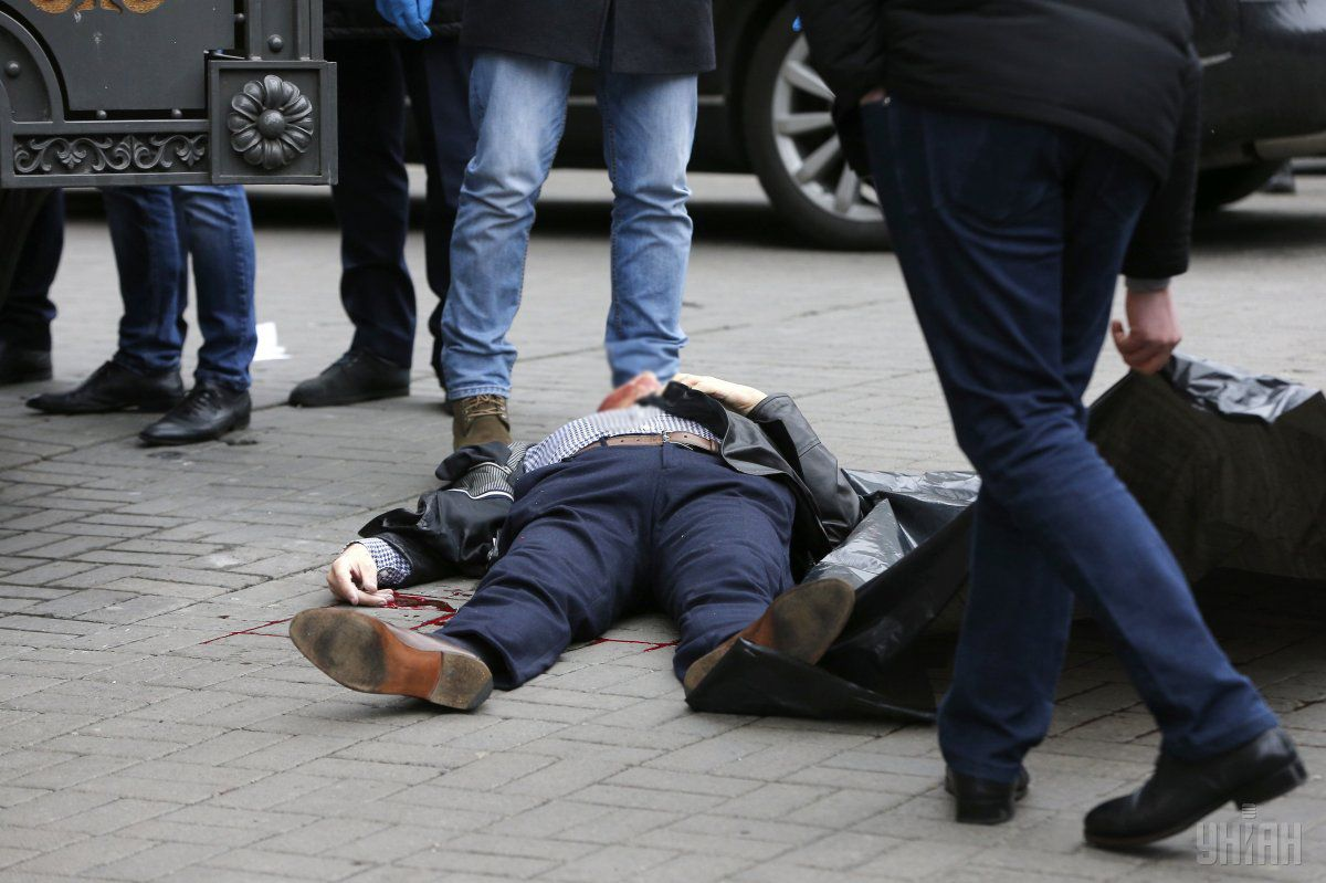 В прокуратуре напомнили, что двое исполнителей преступления в настоящее время находятся под стражей / Фото УНИАН