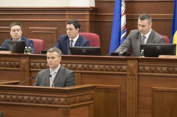 Кличко вызвал в Киевсовет руководителя Киевавтодора, чтобы тот доложил, что происходит на предприятии / kiev.klichko.org