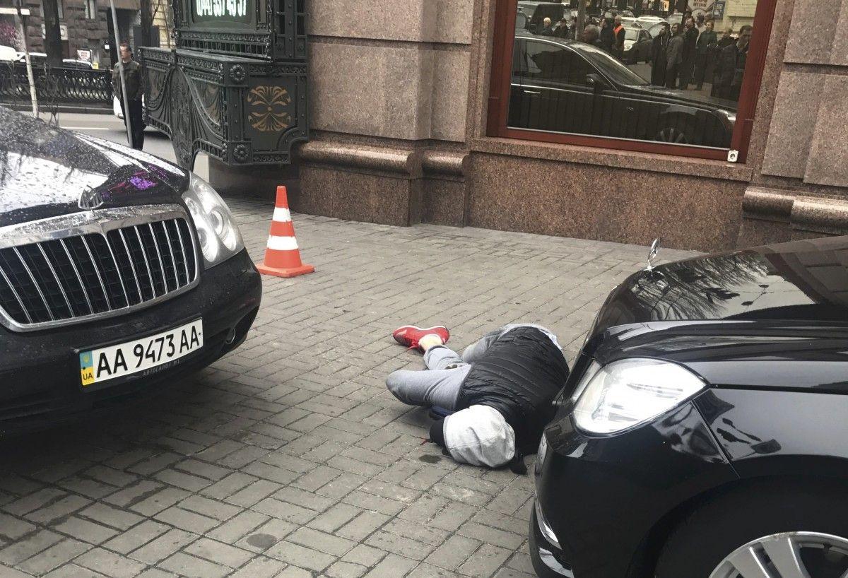 Место убийства Вороненкова / REUTERS