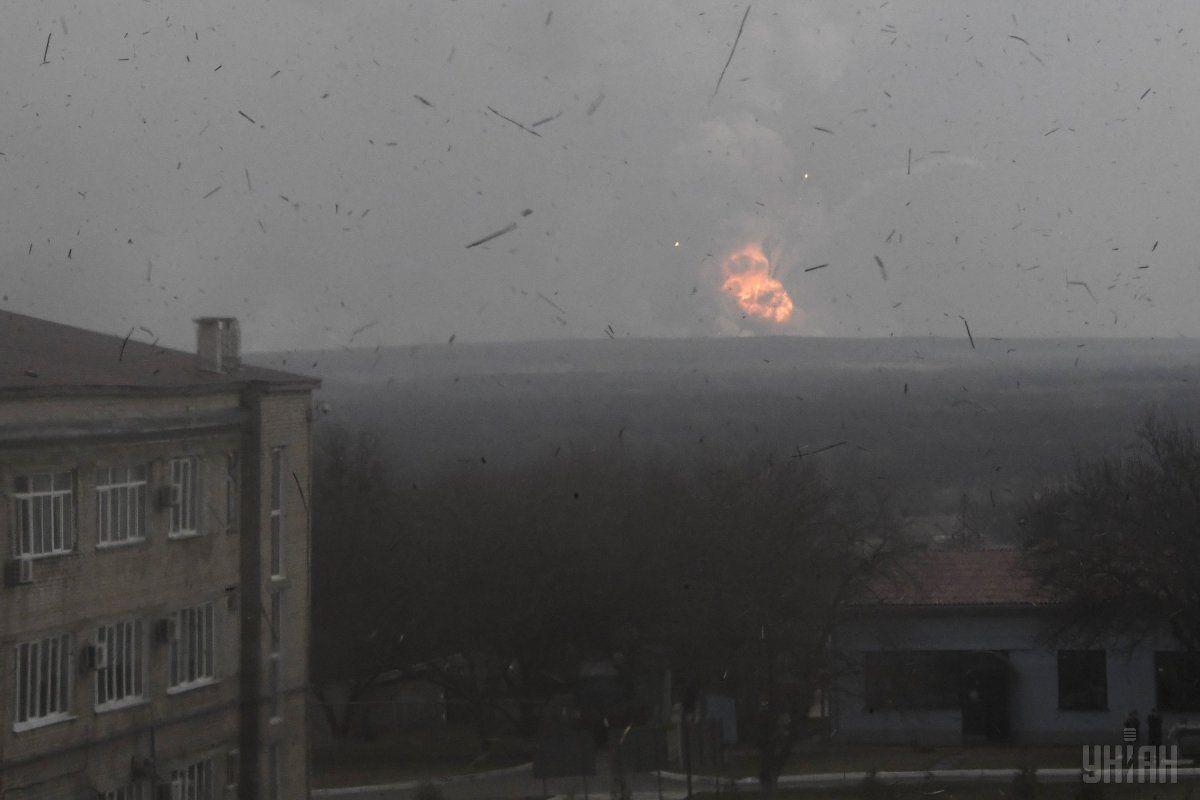 Продолжается работа по локализации возможных мест возгорания / Фото УНИАН