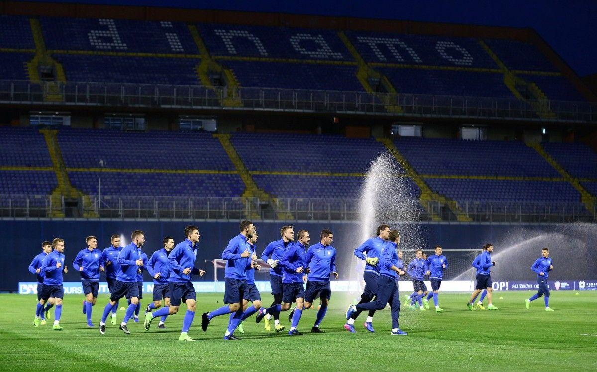 Вечером на стадионе нашу команду поддержат не менее 2 тыс. украинцев / REUTERS