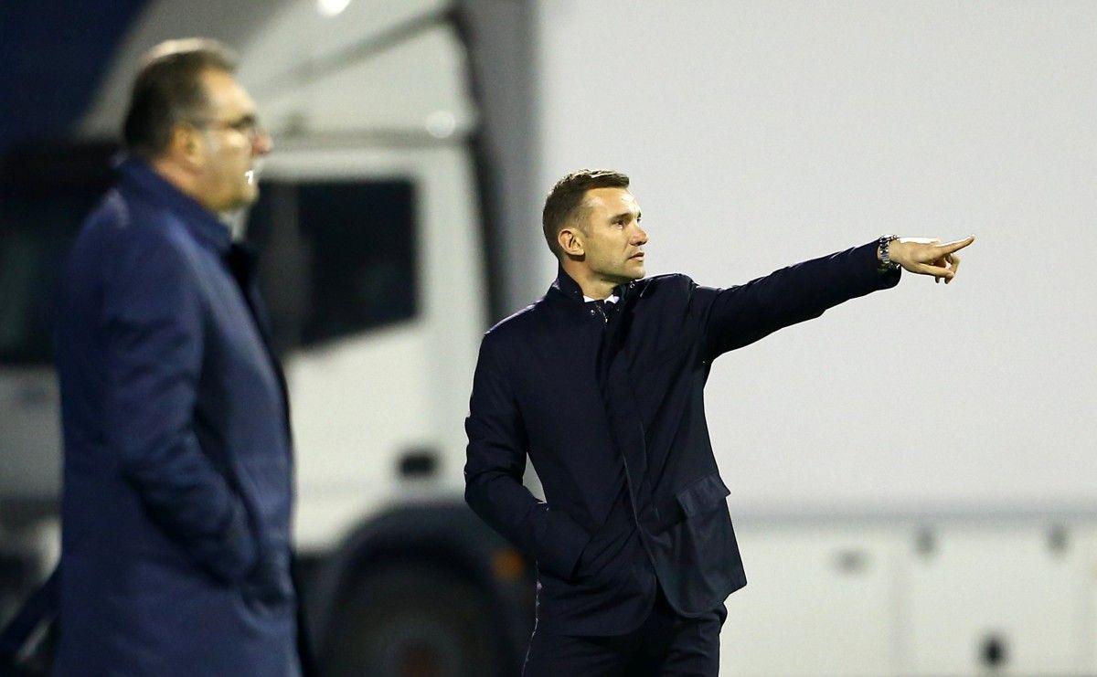 Шевченко не втрачає оптимізму після поразки від хорватів / Reuters
