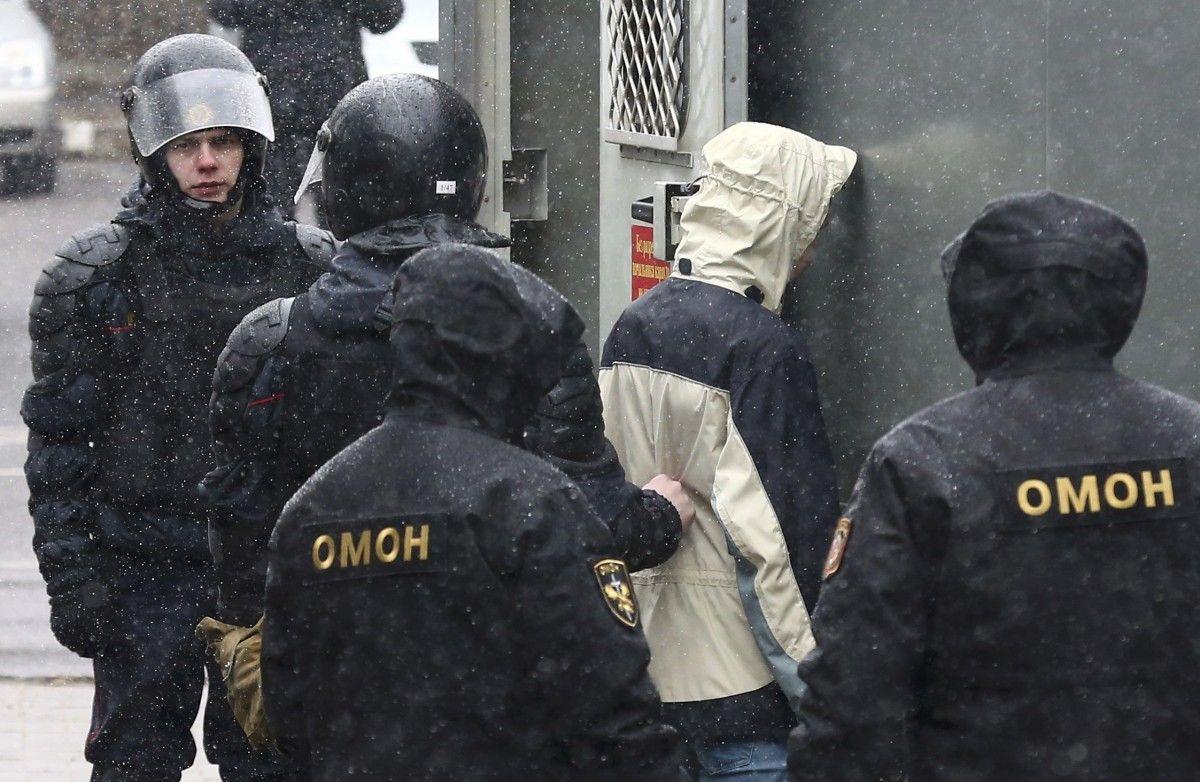 Розгід демонтрацій у Білорусі / REUTERS