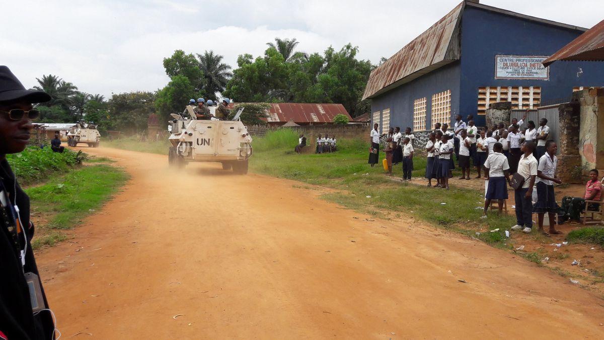 Украинские миротворцы отправились в Конго \ фото REUTERS