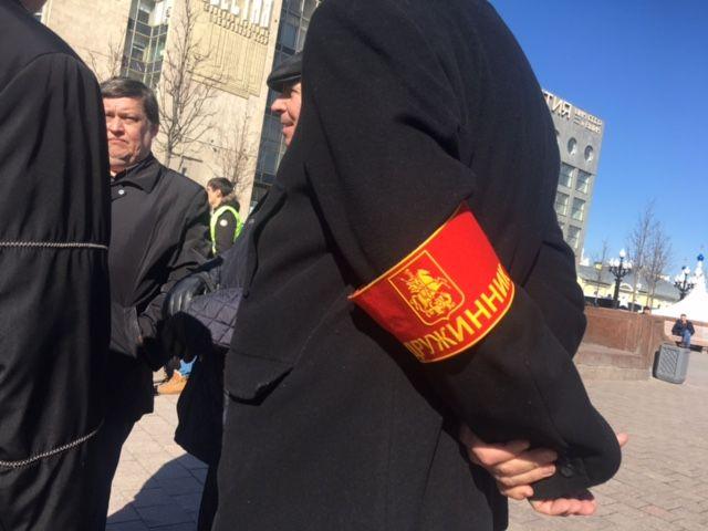 Часть россиян выступила против коррупции, часть - на ее защиту / Фото УНИАН