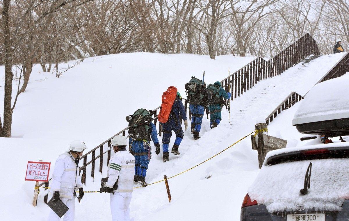 В Японії зійшла снігова лавина / Reuters
