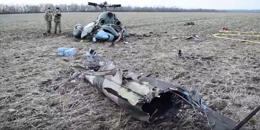 Калитич загинув у катастрофі Мі-2 на Донбасі / Скріншот