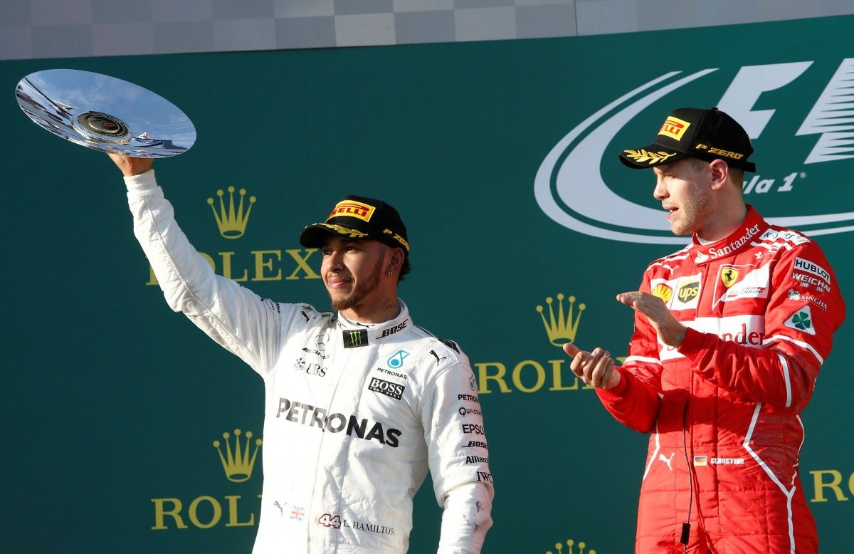 Хемілтон програв Феттелю на першому Гран-прі нового сезону / Reuters