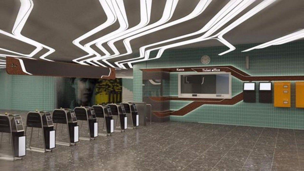 проект реконструкції станції метро
