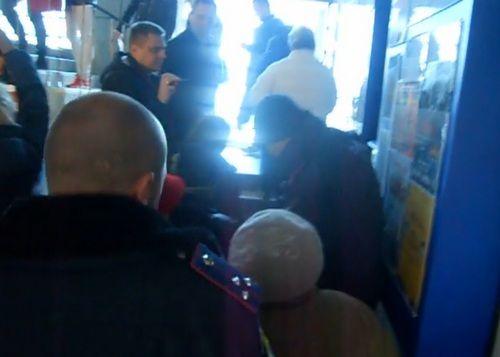 Протестующие потребовали отставки градоначальника / glavnoe.dp.ua