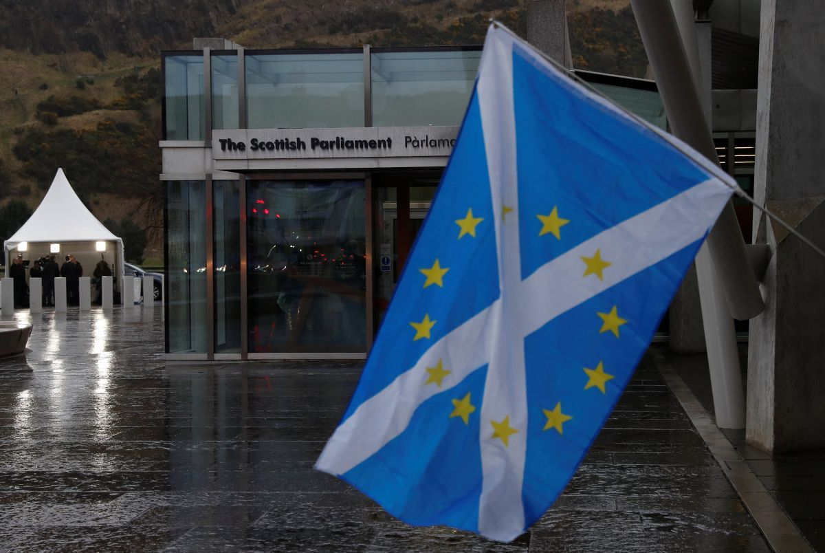 Парламент Шотландии / REUTERS