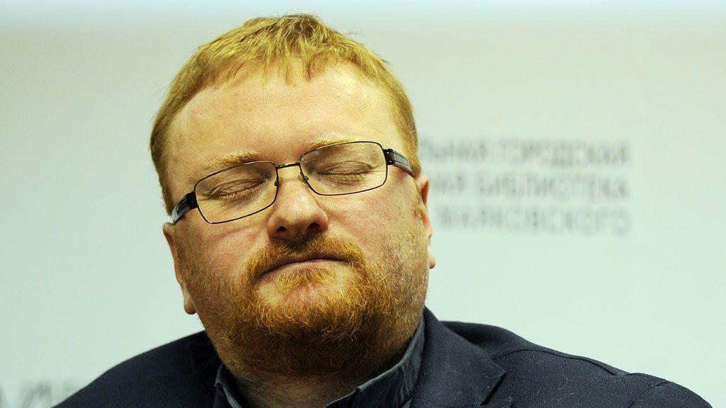 Милонов — известный гомофоб и ненавистник рэперов / ntv.ru