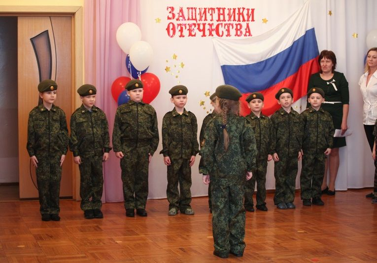 Планується, що у військово-патріотичному русі будуть брати участь і інші дитячі садки міста / cherinfo.ru