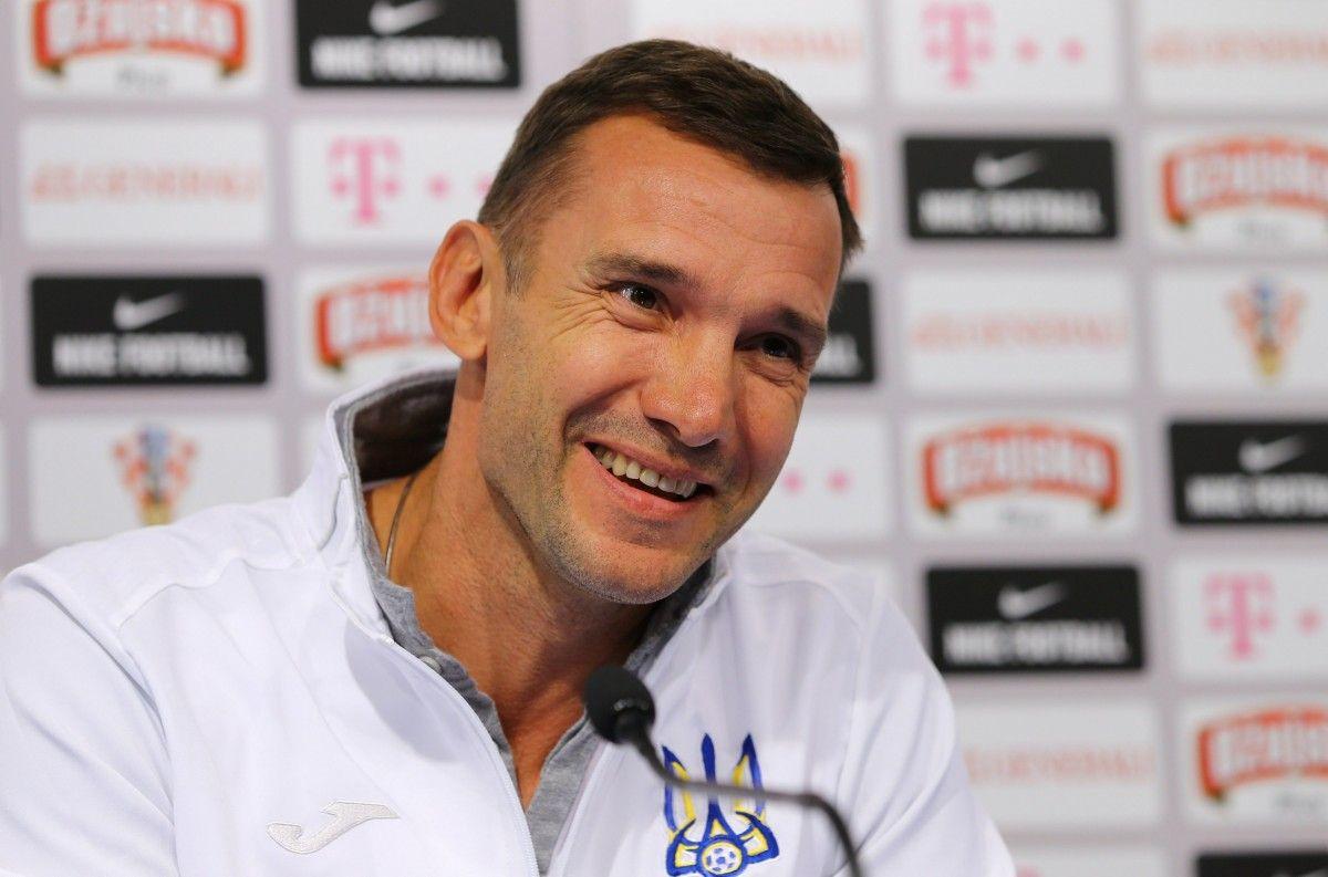 Шевченко очертил главную проблему сборной Украины в матче с Хорватией / Reuters
