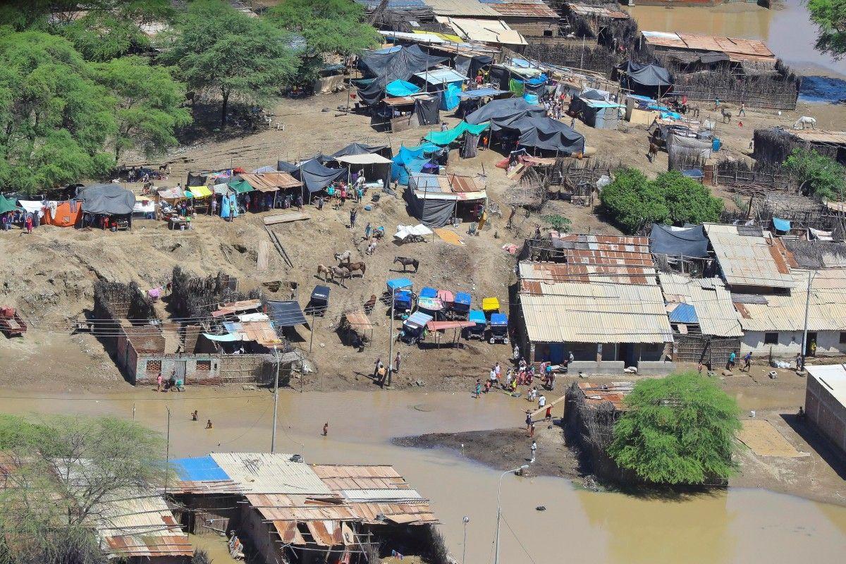 Наслідки повені в Перу / Reuters