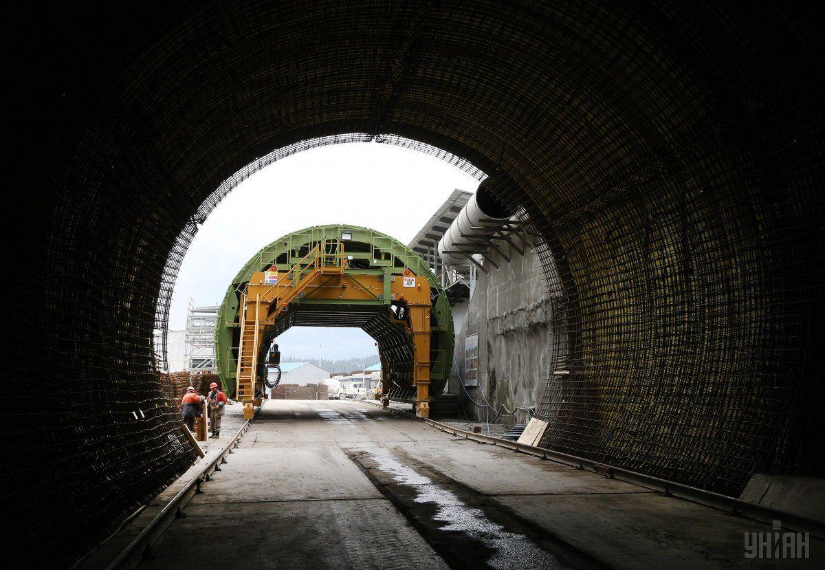 Відкриття Бескидського тунелю - це ще одне вікно до Європи / фото УНІАН