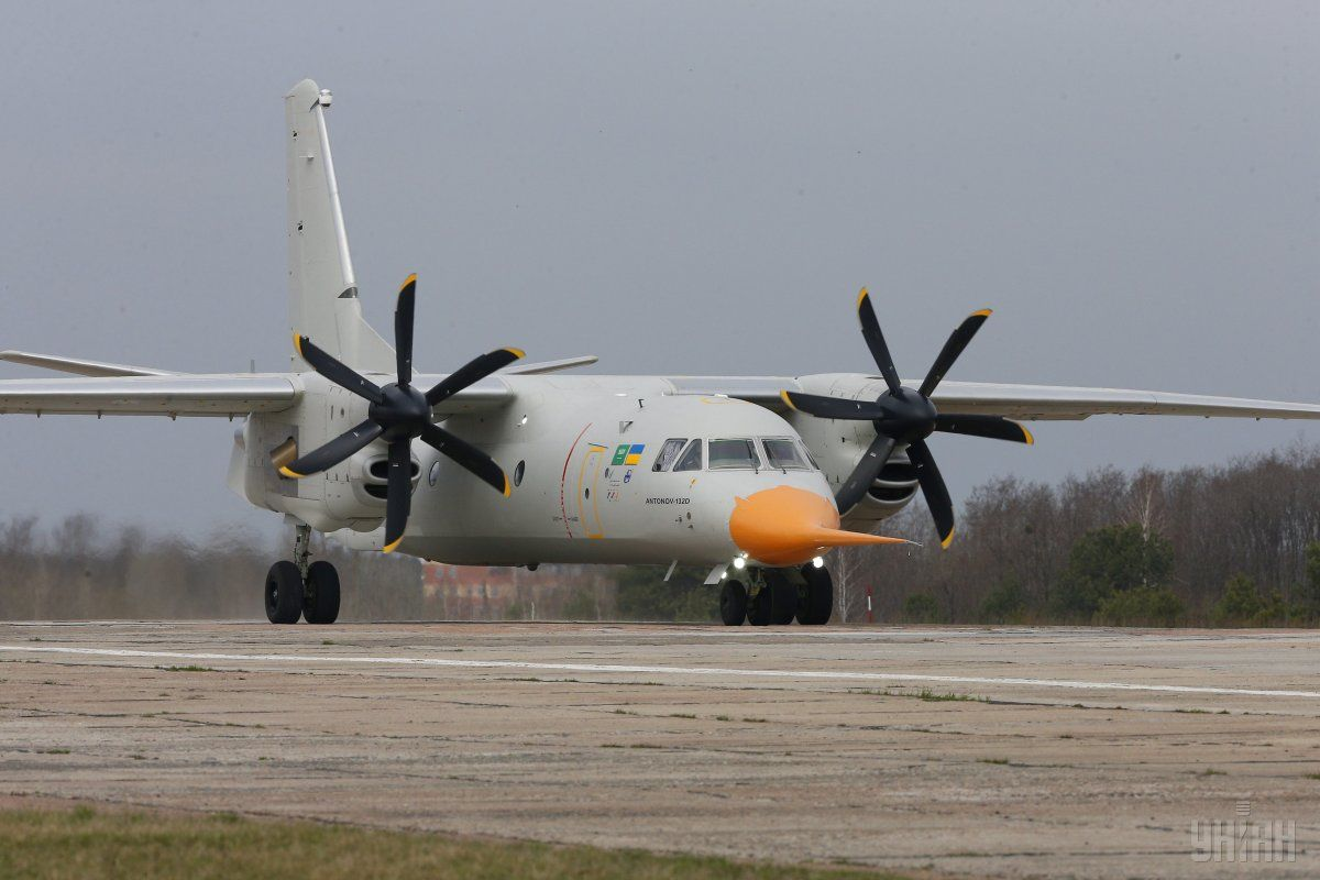 Ukraine's An-132D makes its debut at air show in France