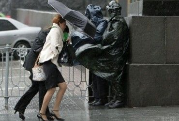 В Киеве сегодня пройдет дождь, днем до +19°