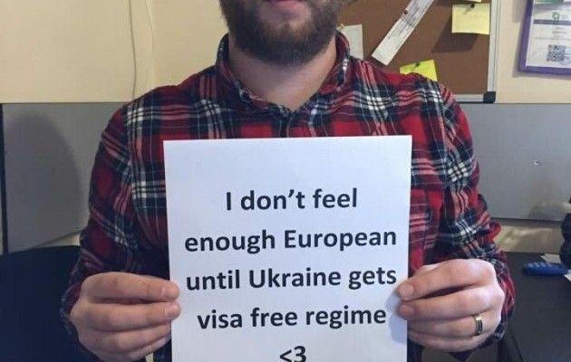 Грузины запустили флешмоб вподдержку украинского безвиза