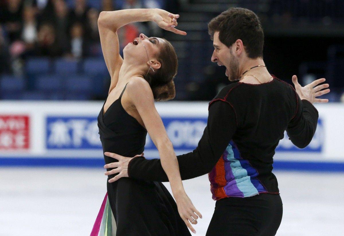 Назарова и Никитин вошли в Топ-15 чемпионата мира / Reuters