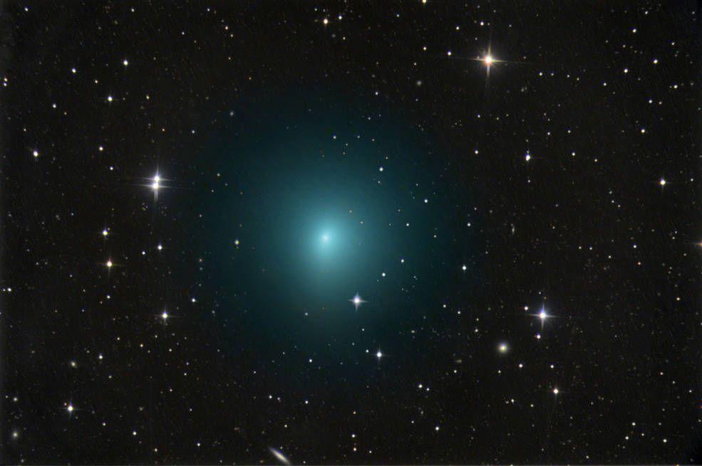 Комету SWAN открыли недавно / nasa.gov