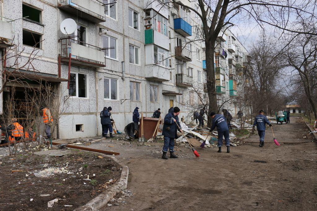 Ночью 23 марта в Балаклее в результате пожара взорвался военный арсенал / mvs.gov.ua