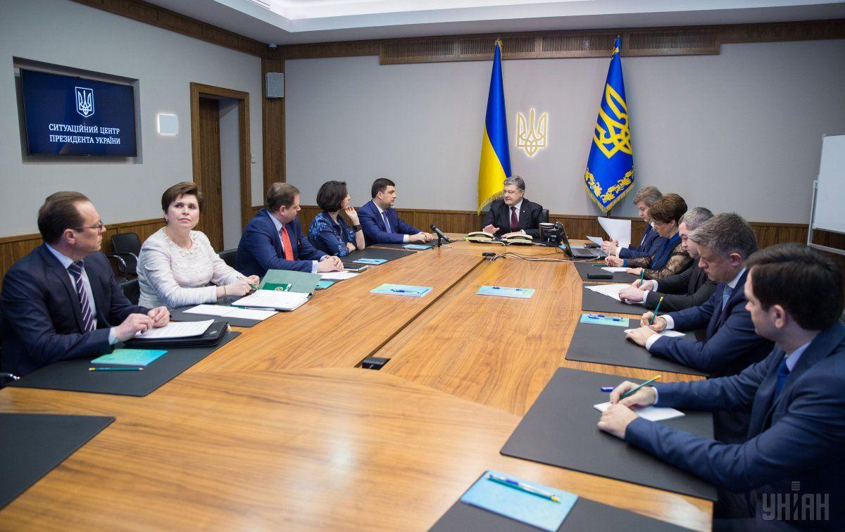 Порошенко о реестре НДС: Украина к этому дню шла с 1996 года / Фото УНИАН