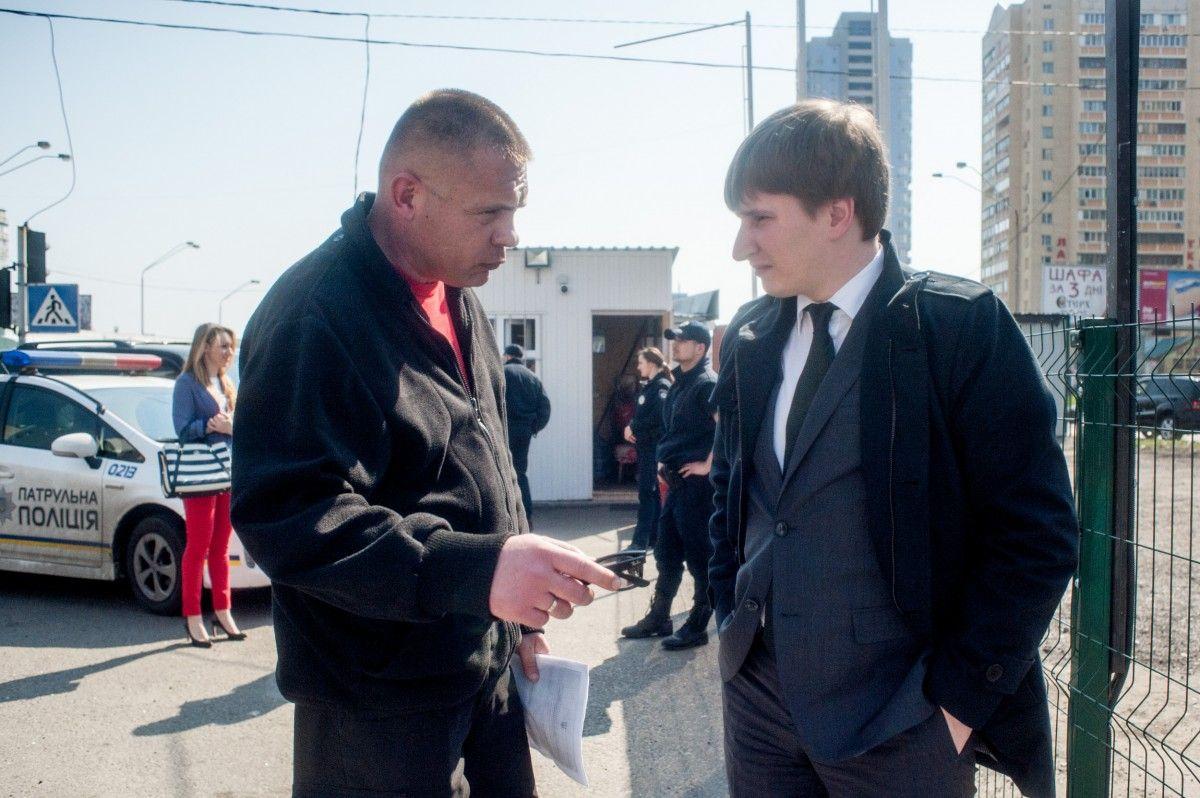Бондаренко перевірив хід демонтажу незаконних автогазозаправних пунктів / kievcity.gov.ua