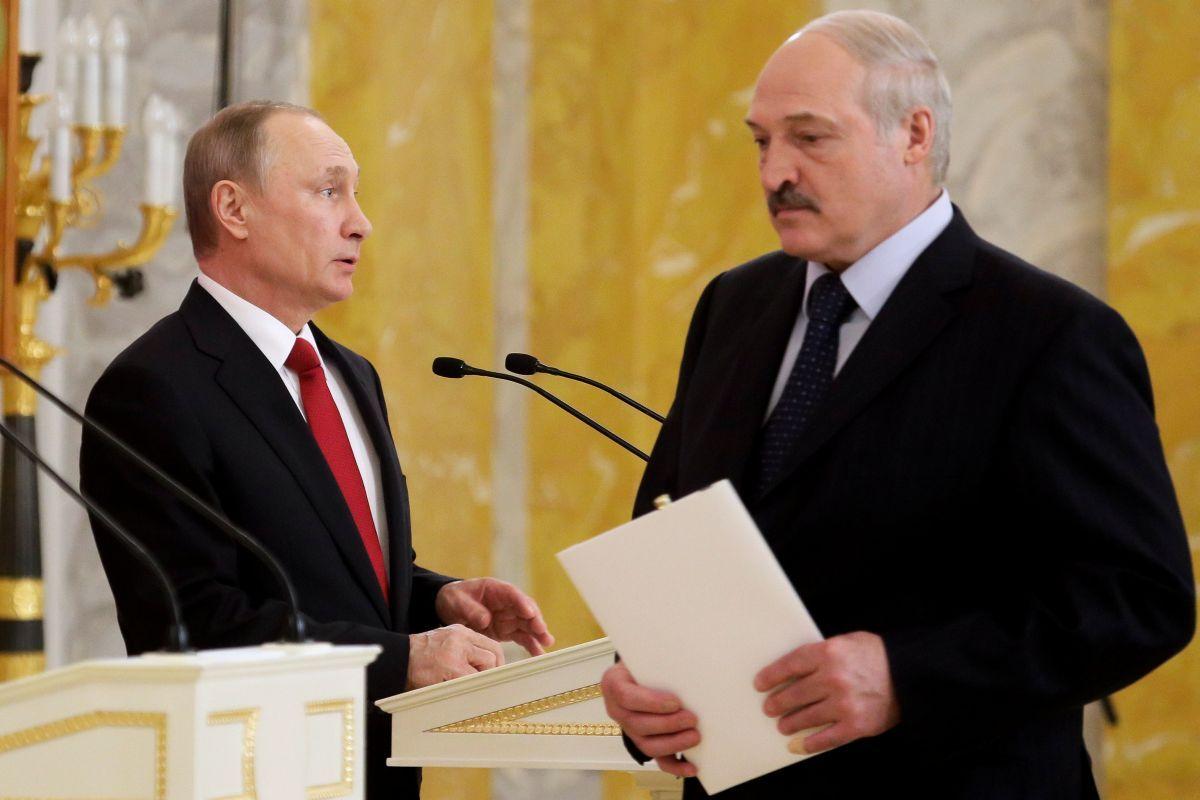 Володимир Путін і Олександр Лукашенко / REUTERS
