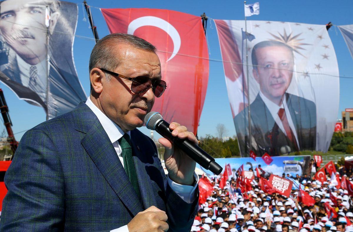 Таїп Ердоган / REUTERS