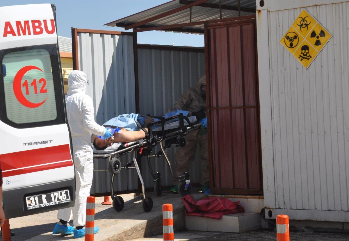 Химическая атака в Идлиб / REUTERS