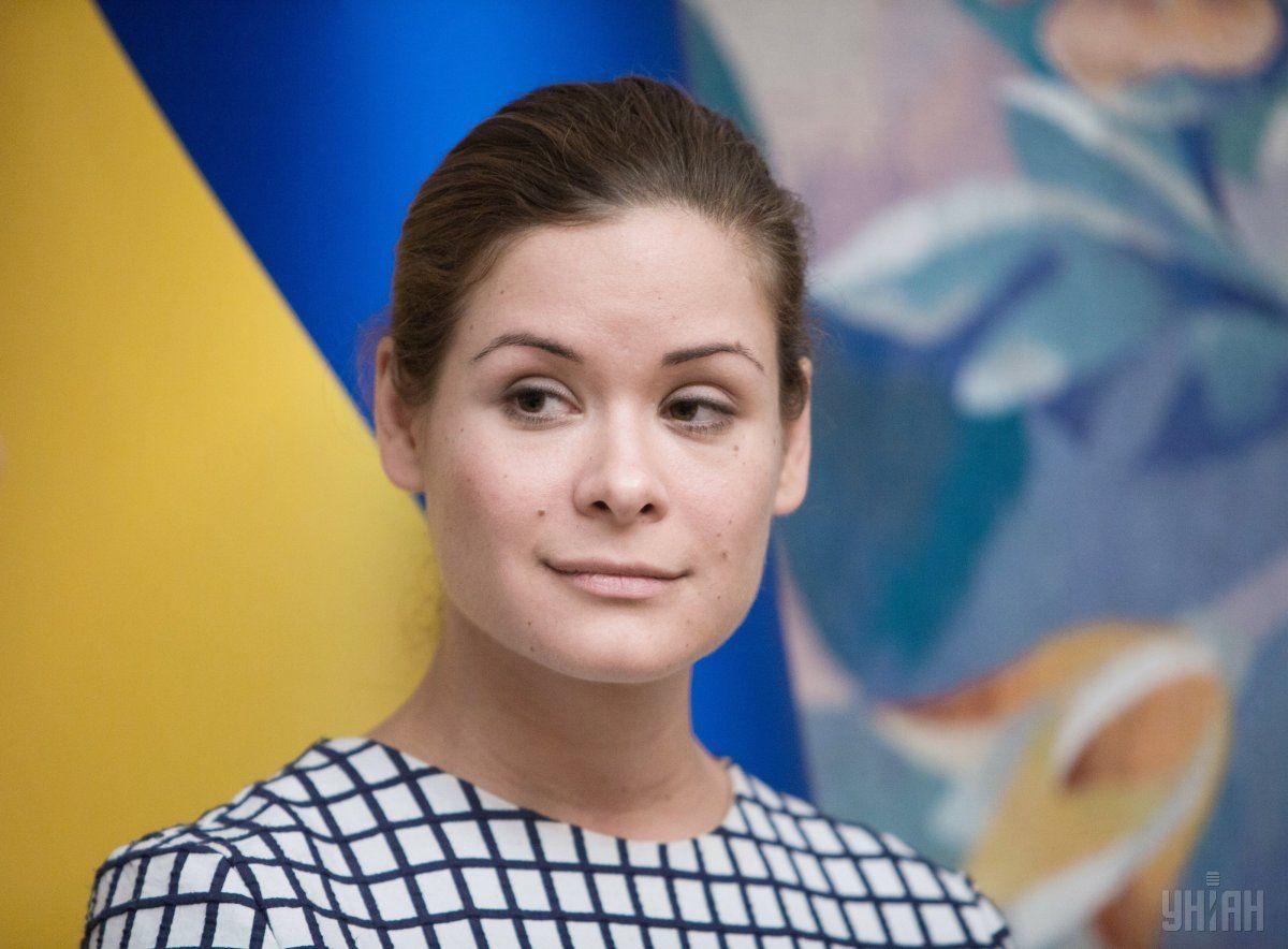 Российский и украинский политик Мария Гайдар / фото УНИАН