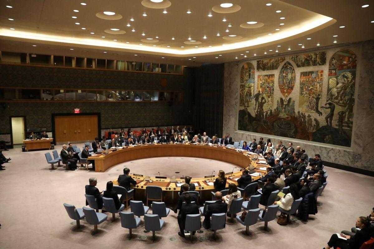 Зал заседаний Совбеза ООН, иллюстрация / REUTERS