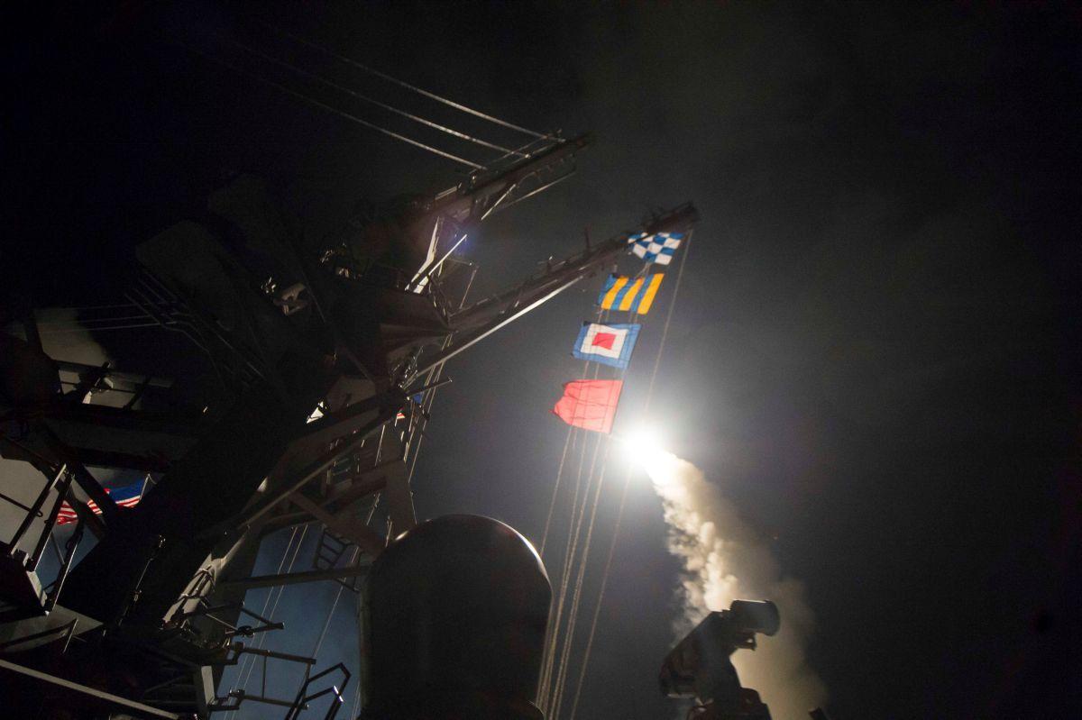 Олег Ведутов о ракетном ударе ВМС США по Сирии: цель США - демонстрация силы
