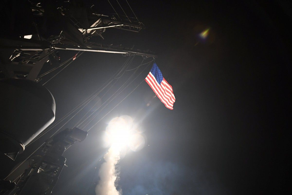 Ракетный удар США по Сирии / REUTERS