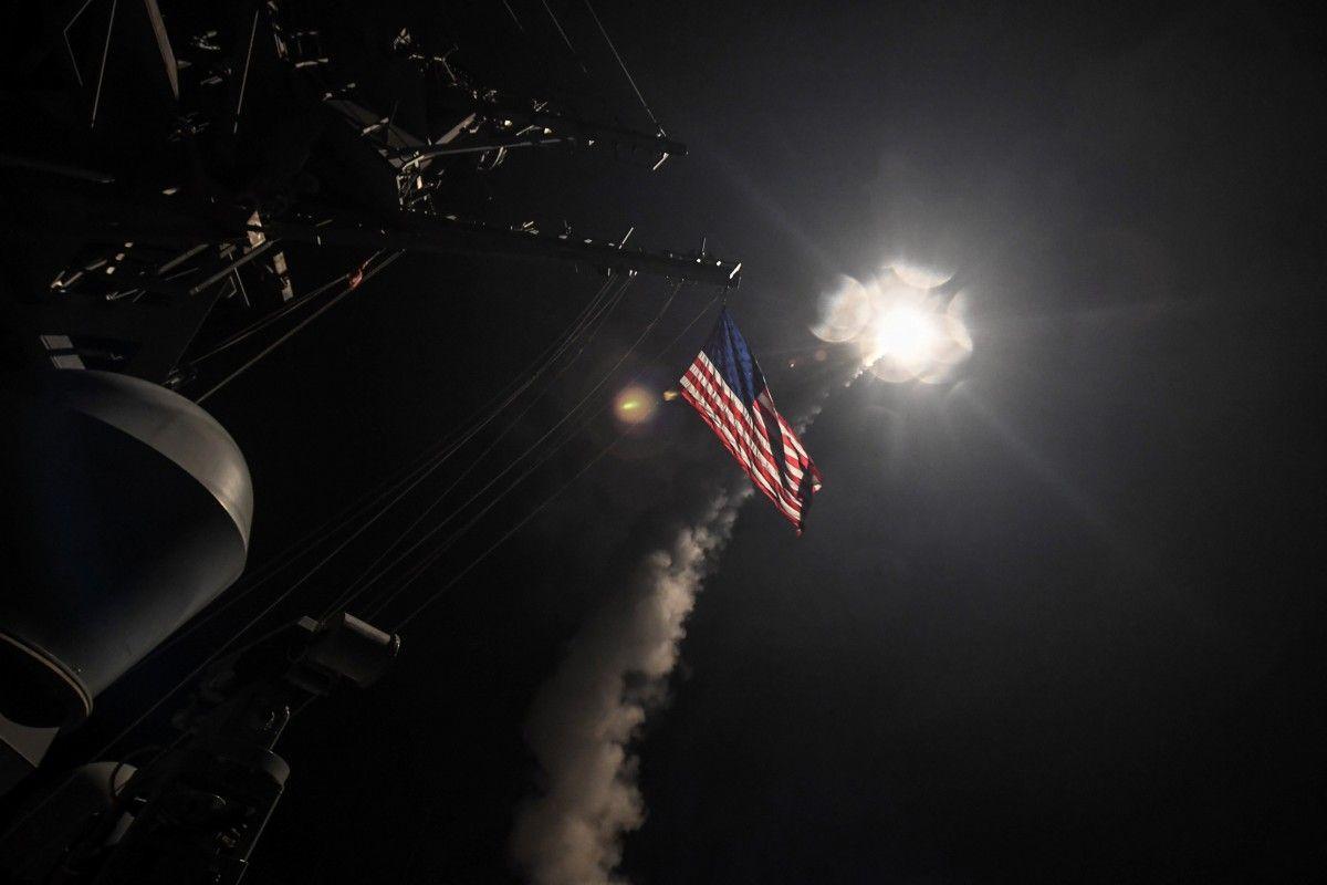 Удар США по авиабазе