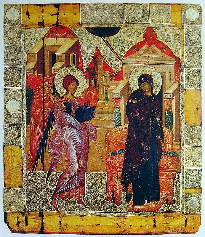 Благовещение Пресвятой Богородицы. Ватопед. Афон.
