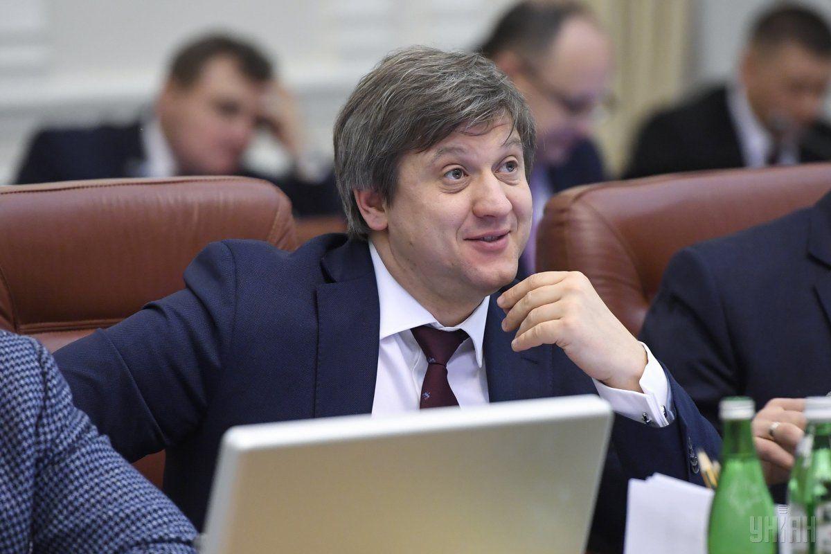 Міністр фінансів Олександр Данилюк / Фото УНІАН