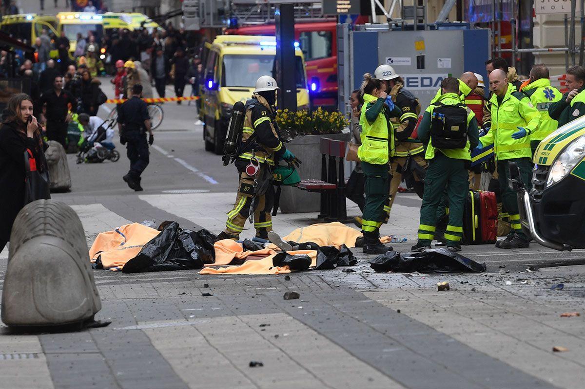 Сегодня в Стокгольме произошел теракт / aftonbladet.se