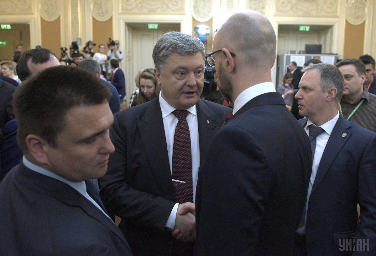 Организованный Яценюком форум стал хорошим поводом для обсуждения насущных внешнеполитических проблем / Фото УНИАН