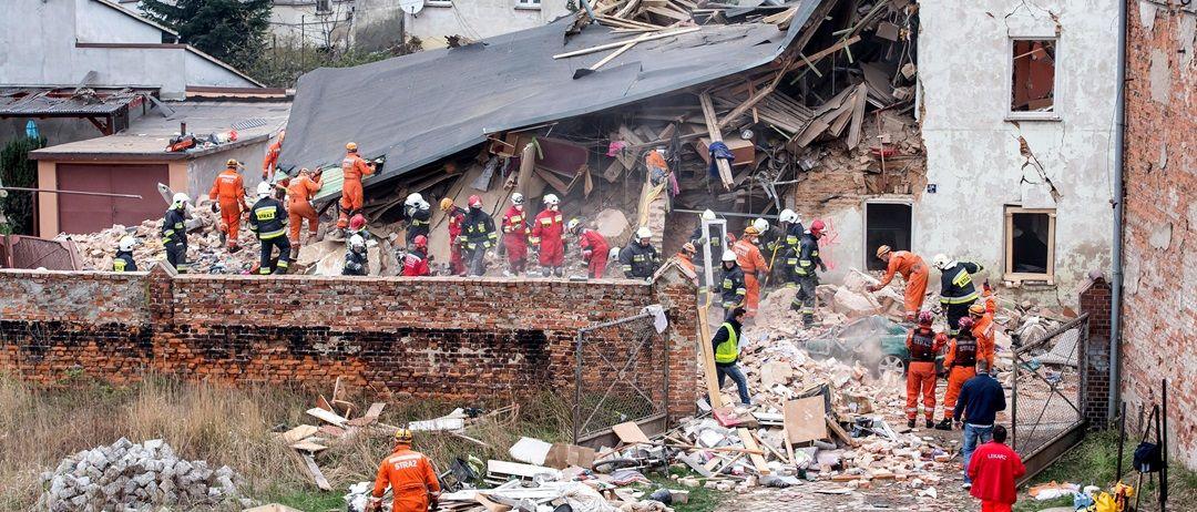 В результаті обвалу житлового будинку в місті Свебодзіце в Нижньосілезькому  воєводстві 5 людей загинули b09836b56cb2e