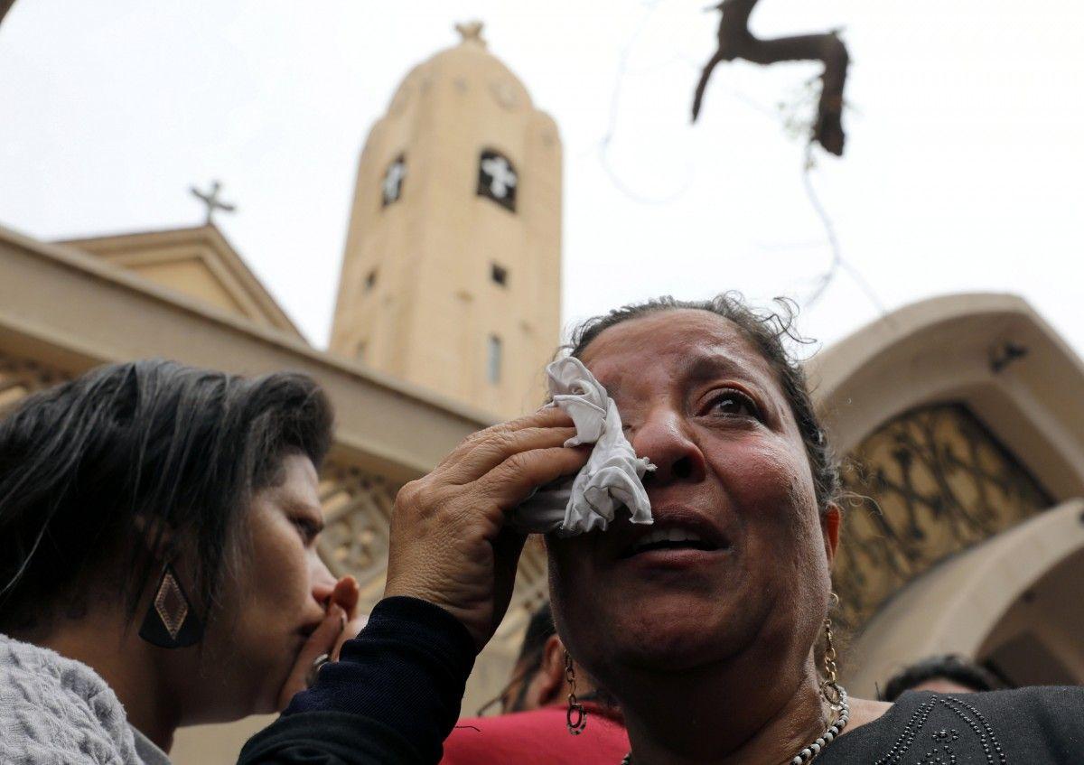 Взрыв в Египте / REUTERS