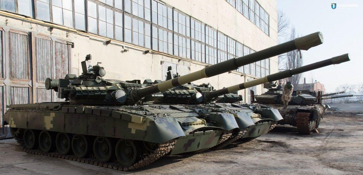 """""""Укроборонпром"""" передав армії модернізовані танки Т-64 і Т-80 / фото ukroboronprom.com.ua"""
