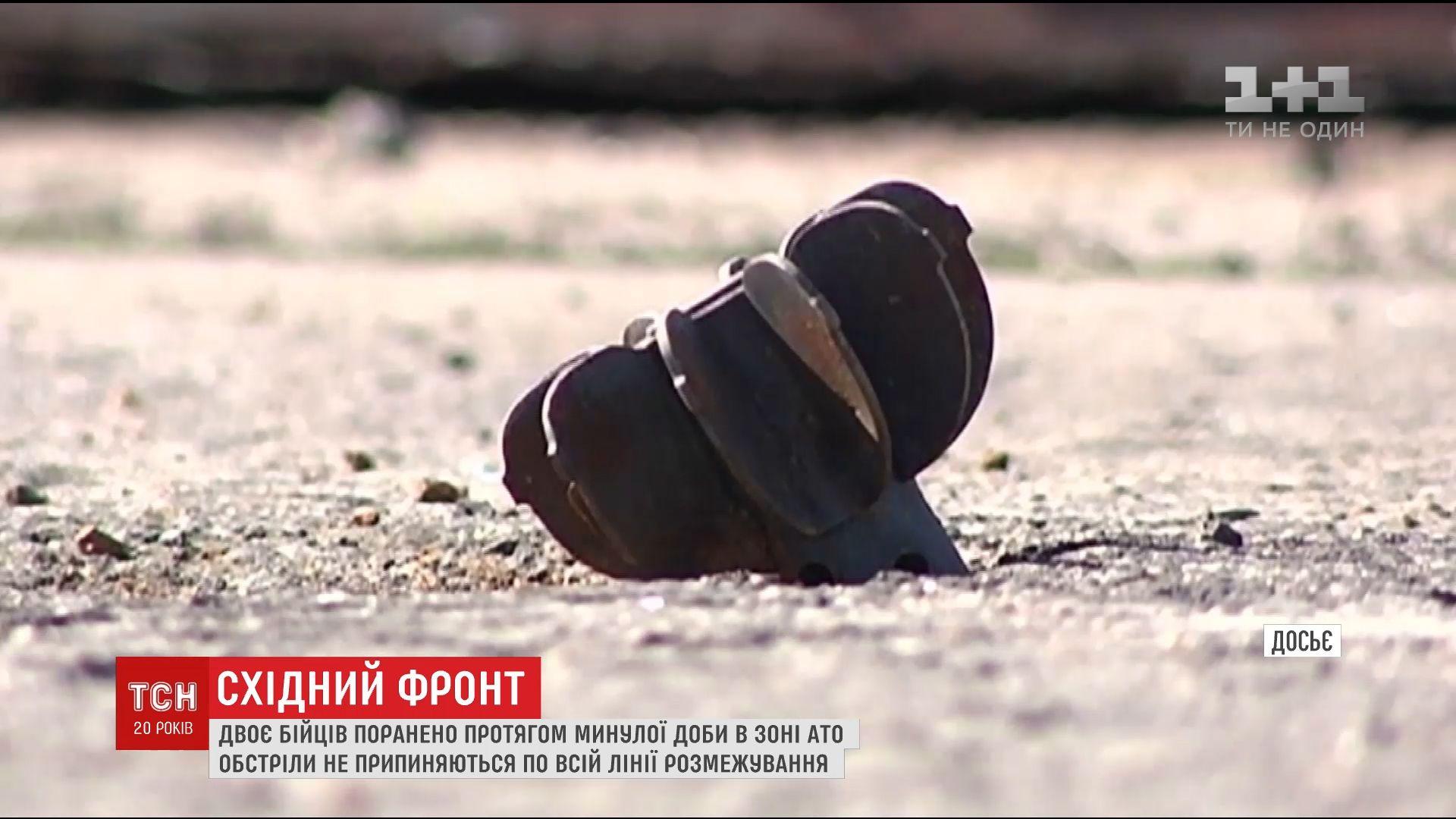ipress.ua Доба в зоні АТО  бойовики били із забороненої зброї 2bb2795bf2441