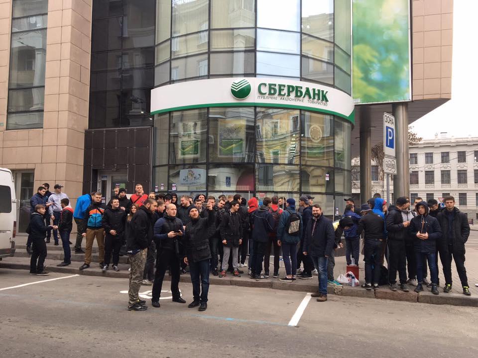 Активисты начали бессрочную блокировку / Олег Ширяев via Facebook
