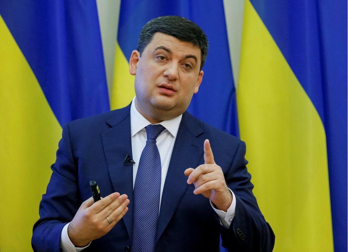 Прем'єр-міністр Володимир Гройсман / REUTERS