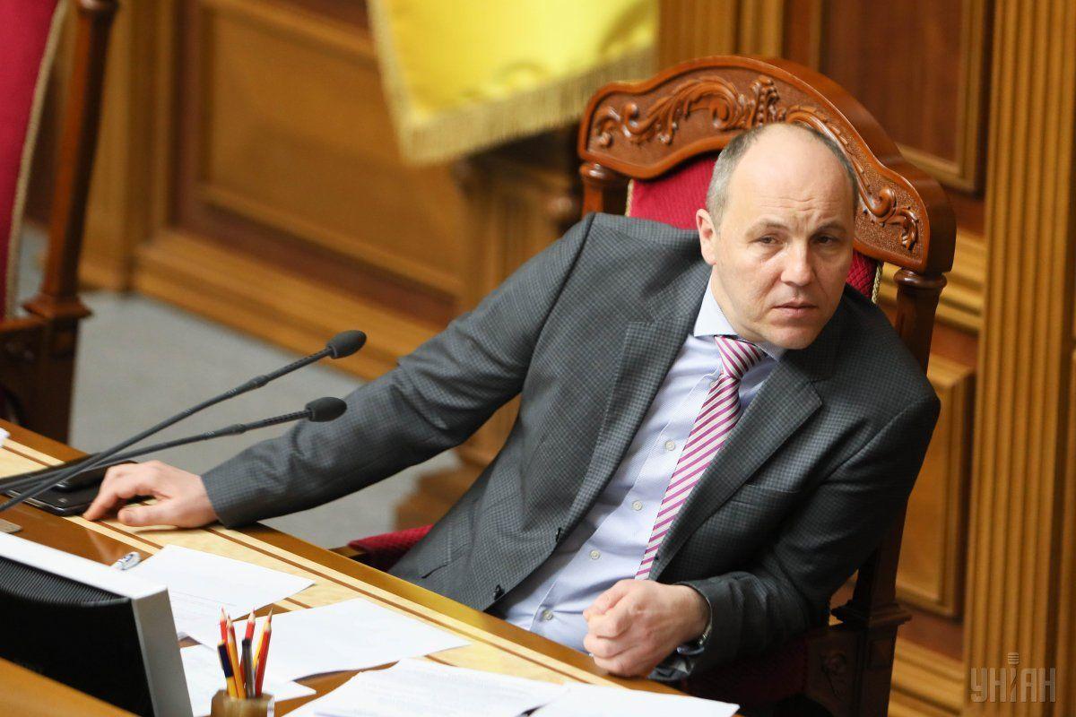Парубий подчеркнул, что сценарий внеочередных выборов навязывается Украине извне / фото УНИАН