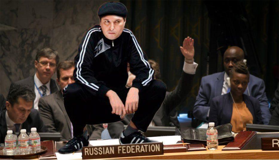 """""""Дивись в очі, гнидо!"""": соцмережі висміяли російського представника-""""гопника"""" в ООН"""